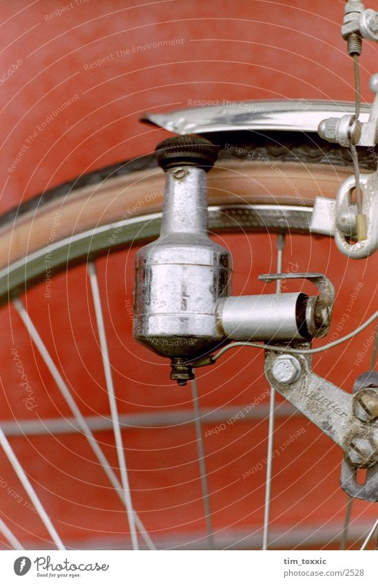 _dynamo Red Photographic technology dynamo. bicycle