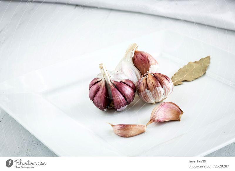 Purple garlic Nature Eating Natural Food Table Cool (slang) Simple New Vegetable Farm Crockery Plate Diet Dinner Rural Farmer