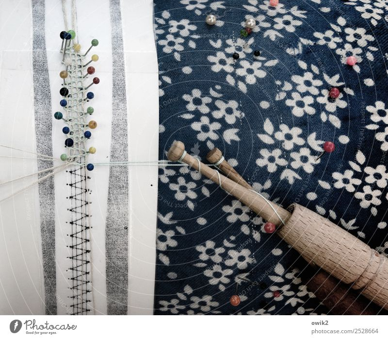 lace pattern Art make pillow lace Textiles Handcrafts Pin Sewing thread Small Near Caution Serene Patient Calm Self Control Diligent Disciplined Endurance