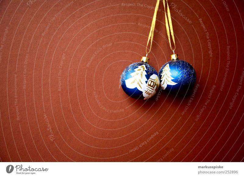 Blue Christmas & Advent Winter Interior design Moody Flat (apartment) Snowfall Glittering Dream Living or residing Illuminate Decoration Gold Glass Communicate