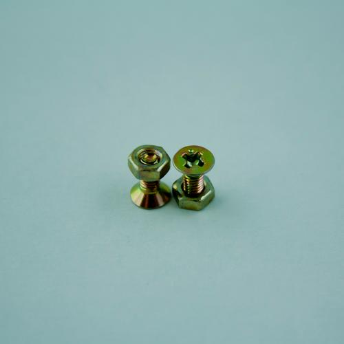 The couple Steel Small Screw Screw thread nickel Colour Construction Connection Focal point Industry Iron Macro (Extreme close-up) Metalware Things Mother Part