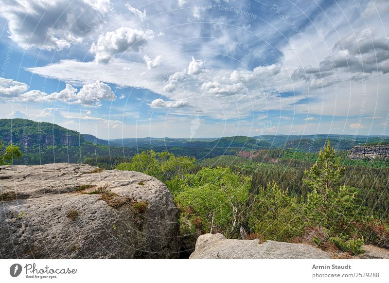 ELBSANDSTEINGEBIRGE Vacation & Travel Tourism Trip Adventure Far-off places Freedom Summer vacation Mountain Environment Nature Landscape Elements Sky Clouds