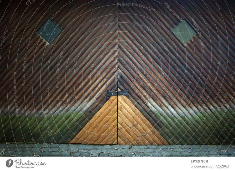 Face Window Wood Sadness Building Door Closed Gloomy Floor covering Stripe Grief Gate Entrance Lock Nostalgia