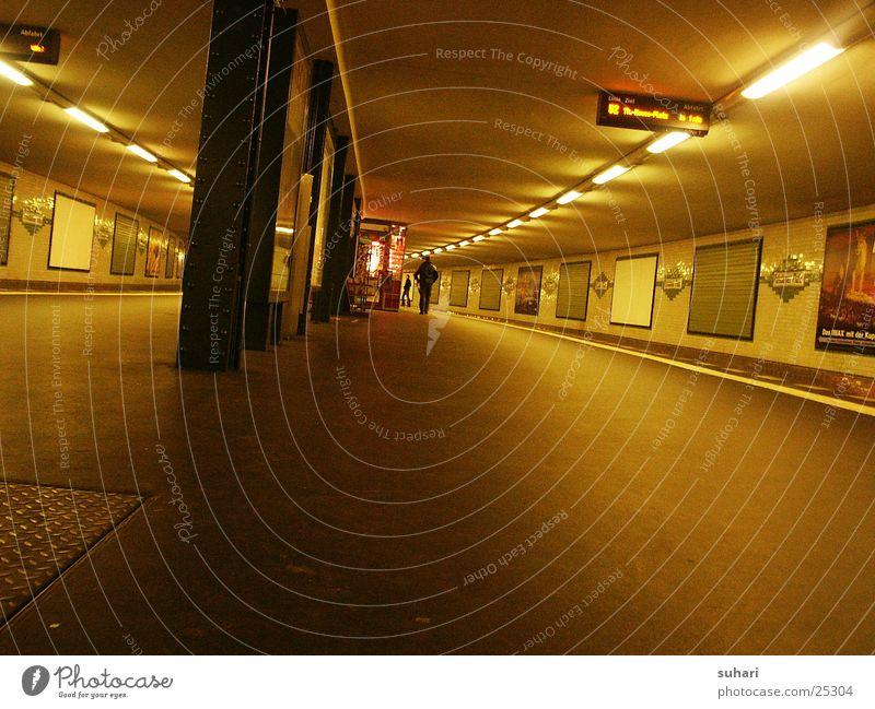 City Berlin Transport Railroad Logistics Underground Subsoil Potsdamer Platz
