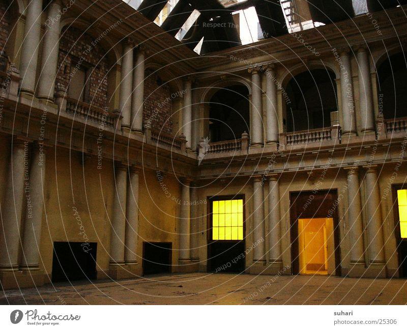 Berlin Building Architecture Derelict Renaissance