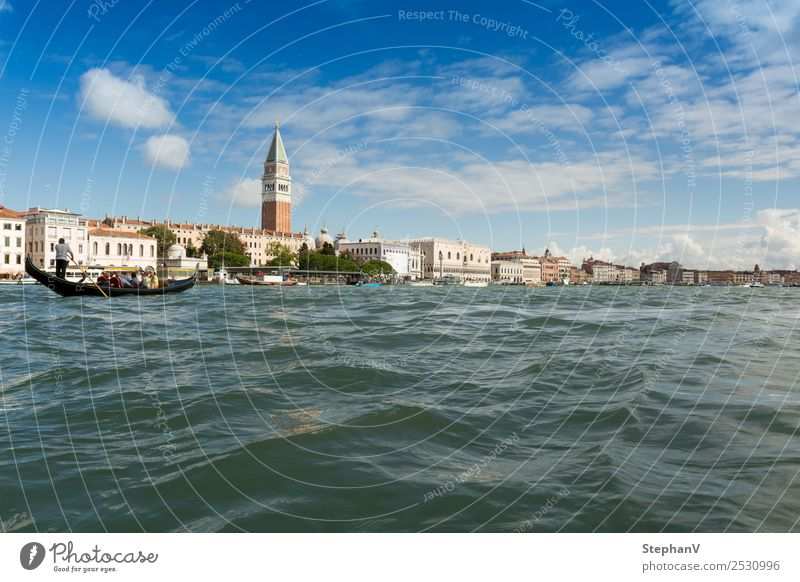 Vacation & Travel Summer Town Landscape Ocean Far-off places Architecture Religion and faith Tourism Trip Watercraft Europe Beautiful weather Italy