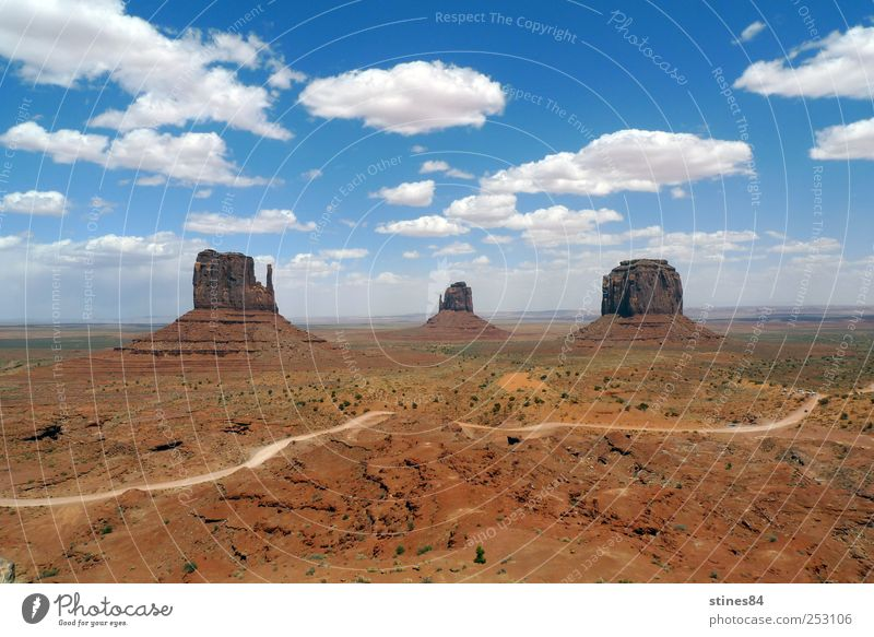 Monument Valley Sky Nature Blue Beautiful Sun Vacation & Travel Summer Joy Freedom Landscape Sand Brown Earth Rock Trip Walking