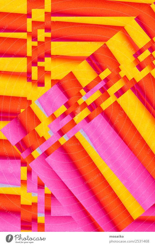 pattern mix - colorful design Lifestyle Design Happy Decoration Wallpaper Wedding Education Art Work of art Paper Love Kitsch Crazy Yellow Orange Pink Euphoria