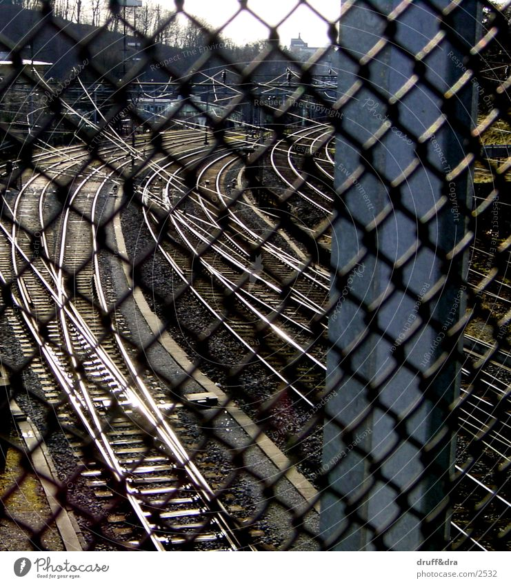 Railroad Things Railroad tracks Grating