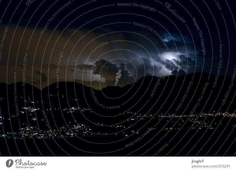Sky Nature Blue White Black Environment Mountain Landscape Air Weather Wind Power Fear Horizon Stars Climate