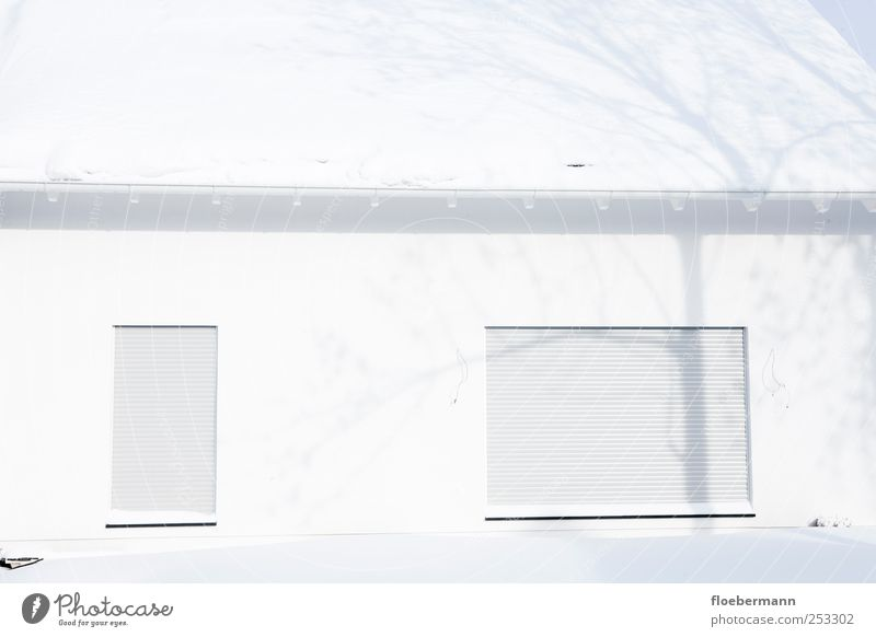 White Cold Window Snow Architecture Building Ice Elegant Facade Design Fresh Esthetic Climate Safety Frost
