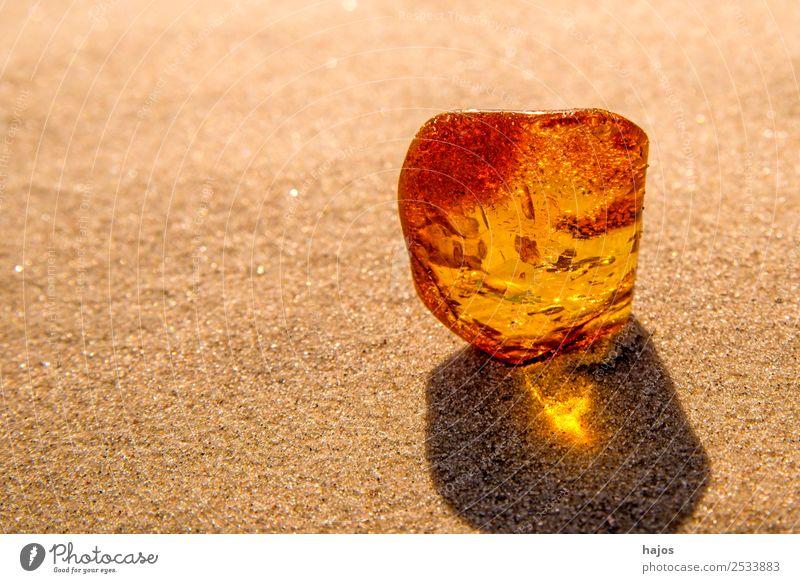 Nature Beautiful Beach Yellow Sand Bright Ornament
