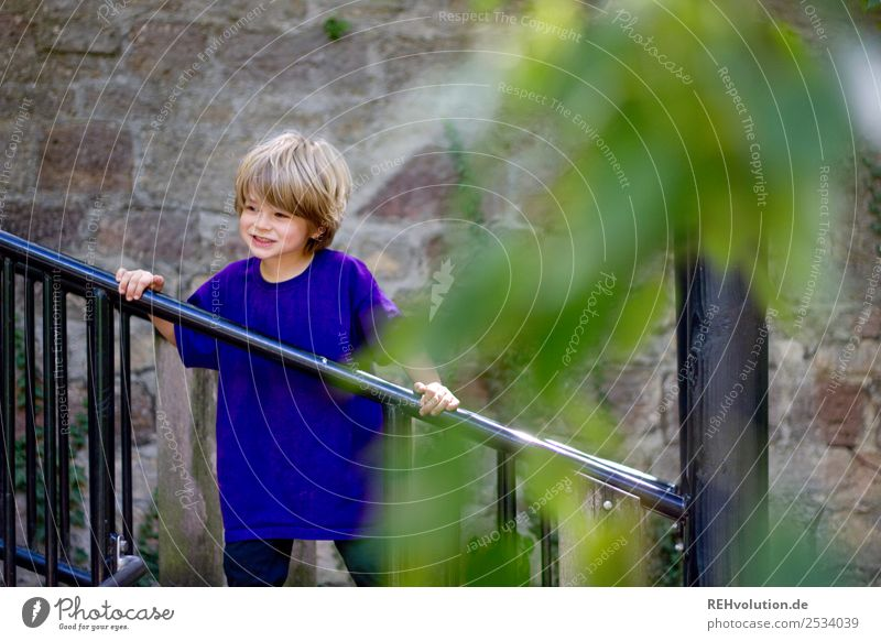 Child Human being Nature Joy Wall (building) Natural Movement Happy Boy (child) Small Playing Wall (barrier) Contentment Leisure and hobbies Masculine Infancy