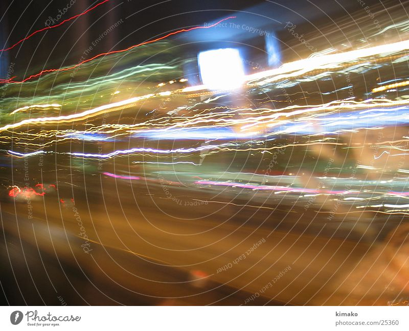 Faster & Faster Photographic technology almost velocidad lights Light fast lights Mexico