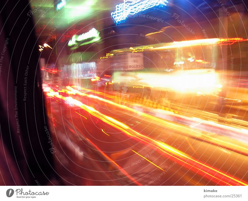fast Photographic technology almost velocidad lights Light fast lights Mexico