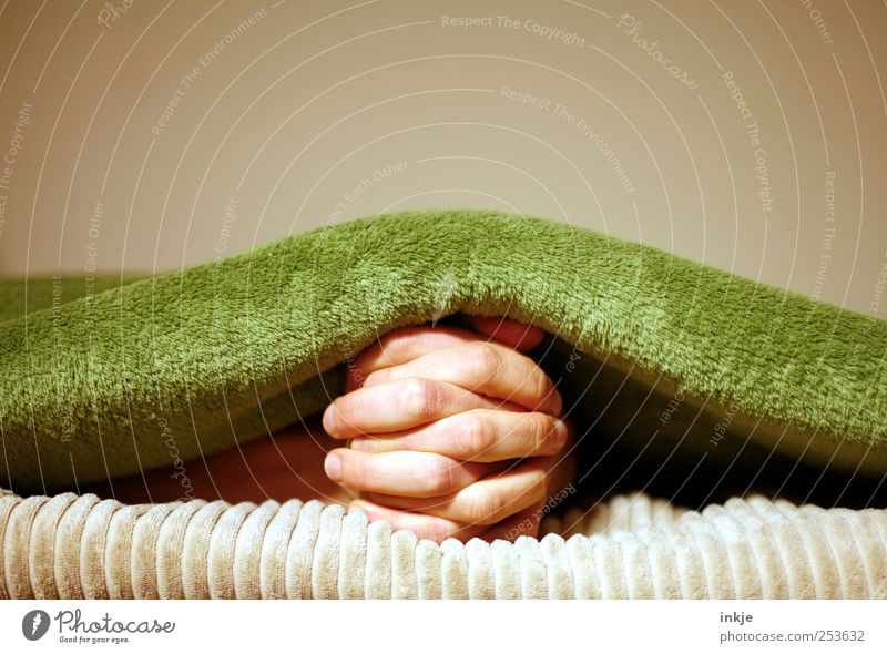 pray (undercover) Lifestyle Harmonious Well-being Contentment Relaxation Living or residing Fingers Hand Blanket Think Communicate Lie Wait Under Soft Emotions