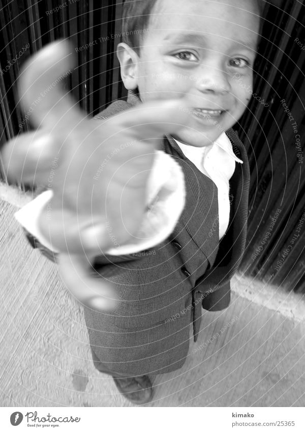 Child Hand Grinning Mexico