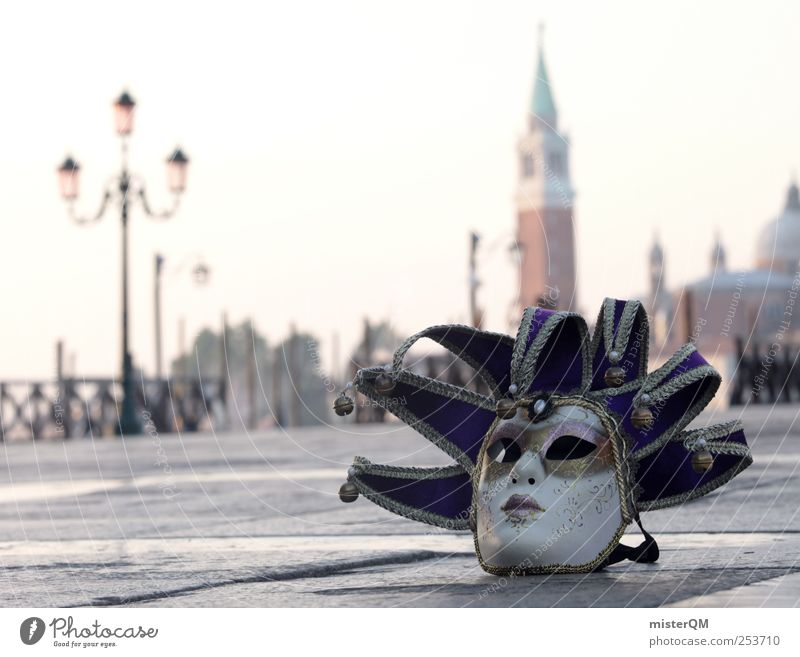 Carnival of Venice I Art Work of art Esthetic Veneto Italy Carnival costume Mask Carneval masque Feasts & Celebrations Masked ball Romance Style