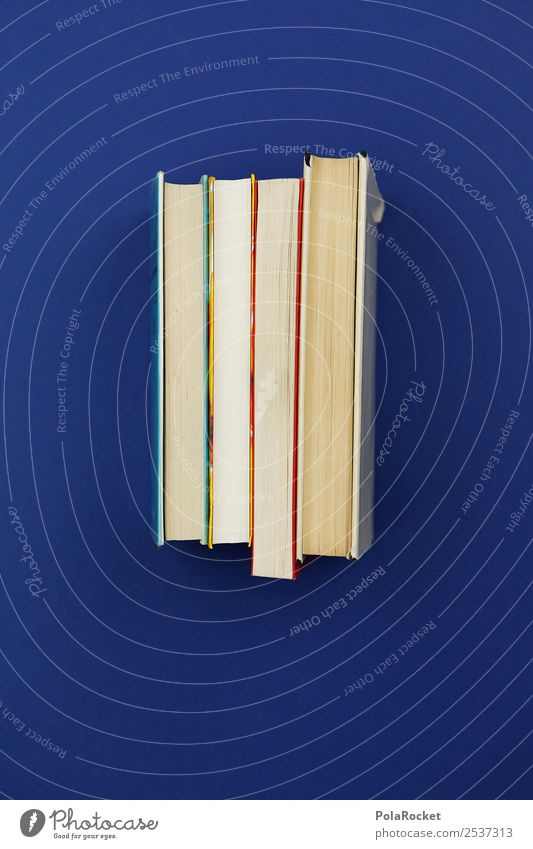 #A# Book art Art Esthetic Bookshelf Book rate Library Blue Know Science & Research Scientist Science museum Education Study School Academic studies Colour photo