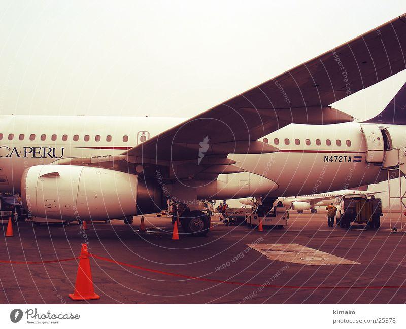Airplane Airport South America Peru