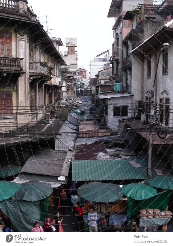 Human being City Thailand Success Roof Markets Bangkok Chinatown