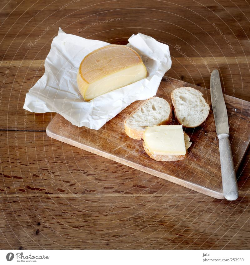 bissel cheese and bissel bread Food Cheese Bread Nutrition Breakfast Lunch Dinner Knives Delicious Appetite Colour photo Interior shot Deserted