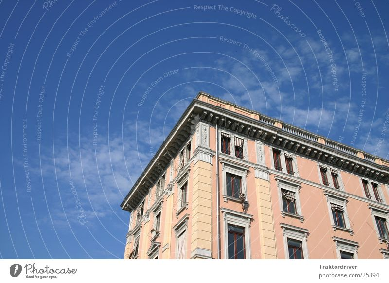 Sky Blue House (Residential Structure) Window Building Architecture Pink Italy Venice