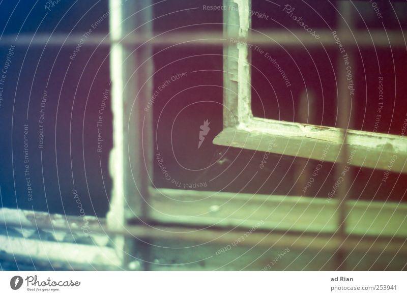 I'll leave you. [UT-Winterthur] Window Glass Metal Old Dirty Sharp-edged Open Exterior shot Long shot