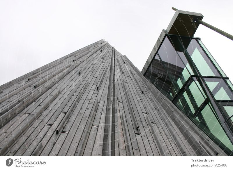 Skywards Wood Converse Architecture Glass Modern Old
