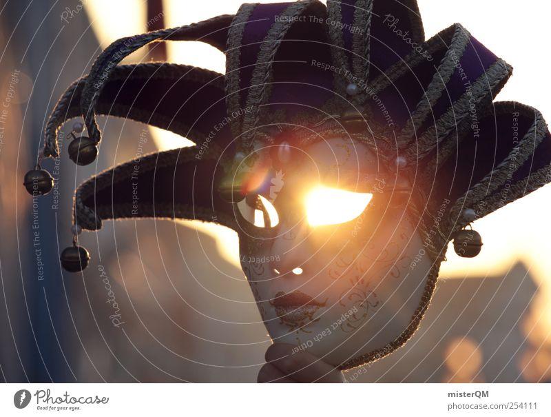 Dark Face Eyes Art Illuminate Esthetic Force Threat Mysterious Mask Carnival Film industry Evil Magic Carnival costume Enchanting