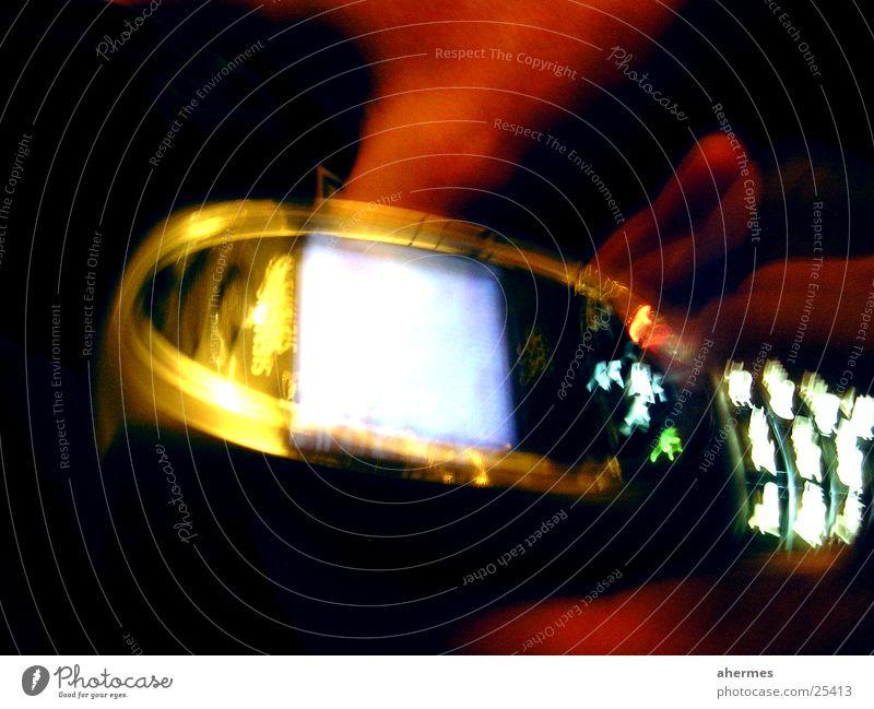 Phone Cellphone Telephone Long exposure Style Multicoloured Siemens SL55