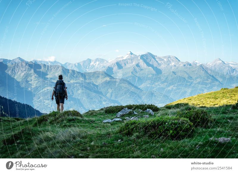 Human being Vacation & Travel Youth (Young adults) Man Far-off places Mountain 18 - 30 years Adults Tourism Freedom Trip Hiking Adventure Snowcapped peak