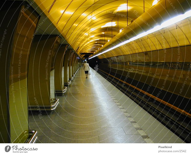 subway Underground Prague Futurism Architecture