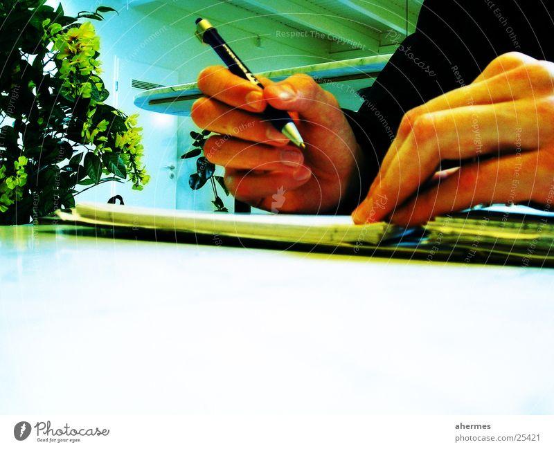 Hand Business Write Services Pen Block Ballpoint pen Signature Written