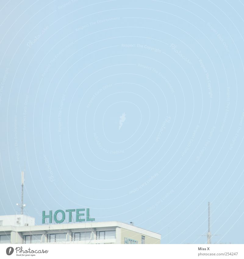 Vacation & Travel House (Residential Structure) Tourism Characters Hotel Sky blue Cloudless sky
