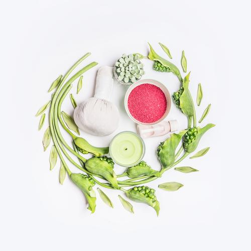 Beauty and healthy lifestyle with SPA Design Joy Beautiful Personal hygiene Cosmetics Wellness Well-being Fragrance Cure Spa Massage Nature Flower Leaf