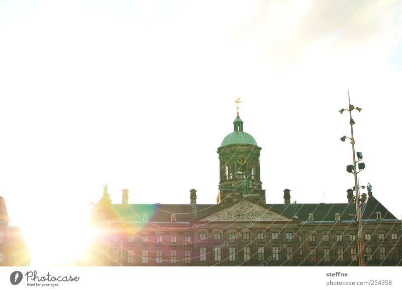 Kitsch Castle Beautiful weather Netherlands Cloudless sky Amsterdam Royal