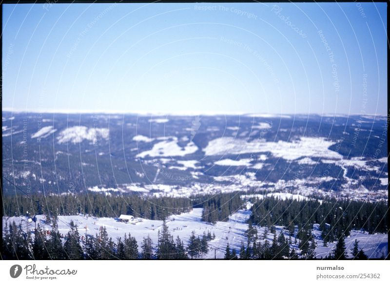 Somewhere in Norway Leisure and hobbies Vacation & Travel Tourism Winter Snow Winter vacation Mountain Nature Landscape Horizon Beautiful weather Ice Frost