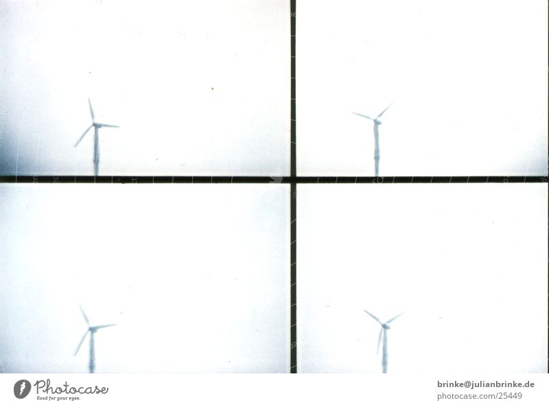 wind power Alternative Gray White Rotate Electricity Produce Sky Krefeld Lomography Wind energetic Blue Energy industry create grey Julian brink Guinea pig