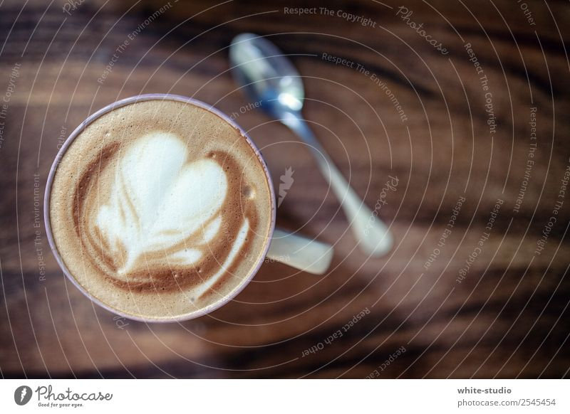 coffee break Beverage Hot drink Coffee Wellness Life Well-being Contentment Relaxation Drinking Cappuccino milk foam foam figure barista Coffee break