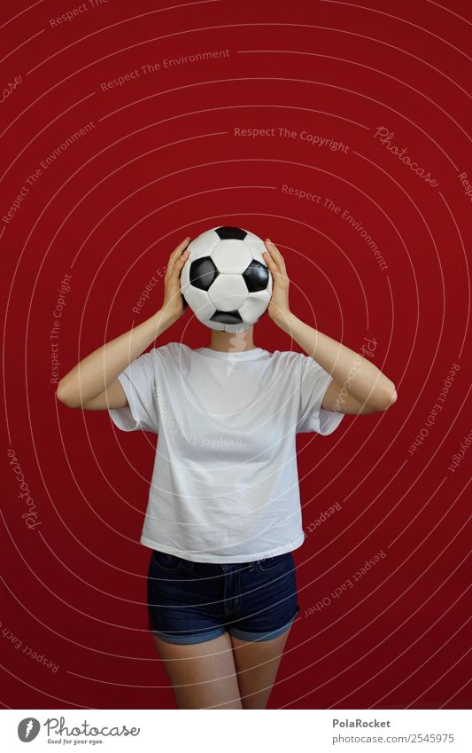 #A# WM face 1 Human being Esthetic Soccer Foot ball Table soccer Football pitch Soccer training Woman World Cup Sports Creativity Colour photo Multicoloured