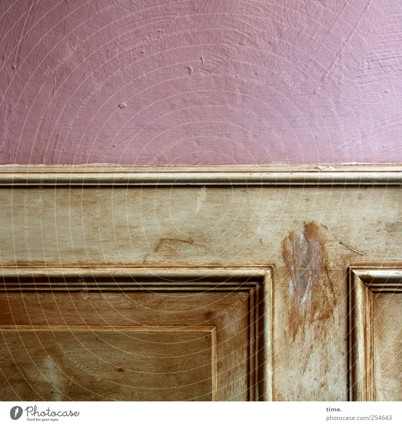 Old Wall (building) Wood Wall (barrier) Moody Brown Contentment Pink Arrangement Interior design Esthetic Decoration Nostalgia Symmetry Equipment Identity