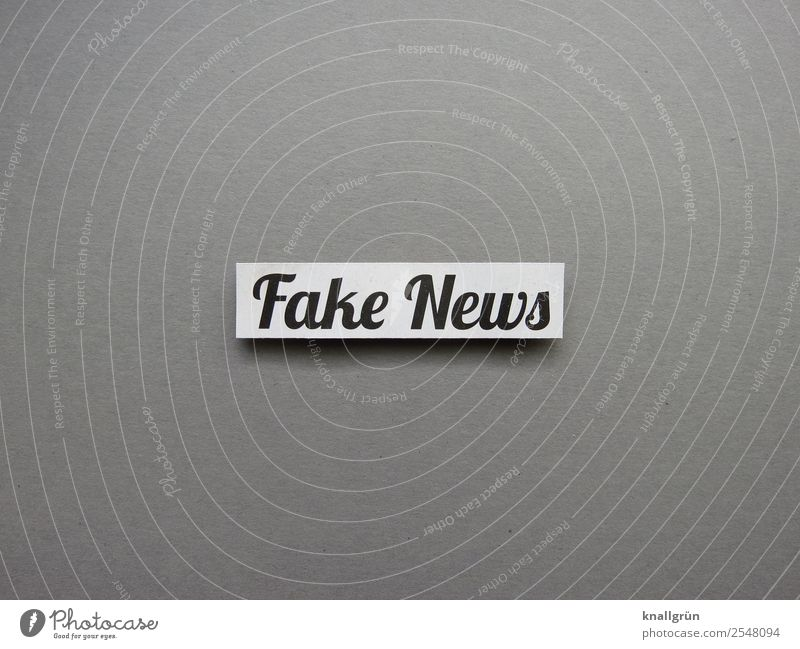 Fake News Characters Signs and labeling Communicate Gray Black White Emotions Moody Responsibility Truth Honest Authentic Dangerous Inequity Betray False Anger