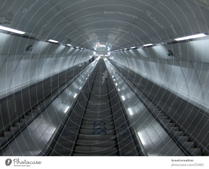 Vacation & Travel Lighting Stairs Technology Train station Hallway In transit Escalator Electrical equipment