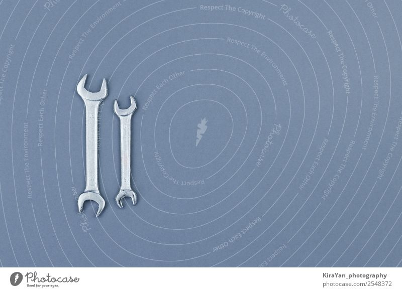 Flat lay of metal spanners on gray background Design Happy Freedom Wallpaper Feasts & Celebrations Monument Blue Red Independence labor American USA america