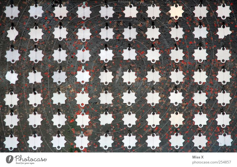 Star (Symbol) Many Row Silver Symmetry Target Classification Beaded Structures and shapes Pattern Badge