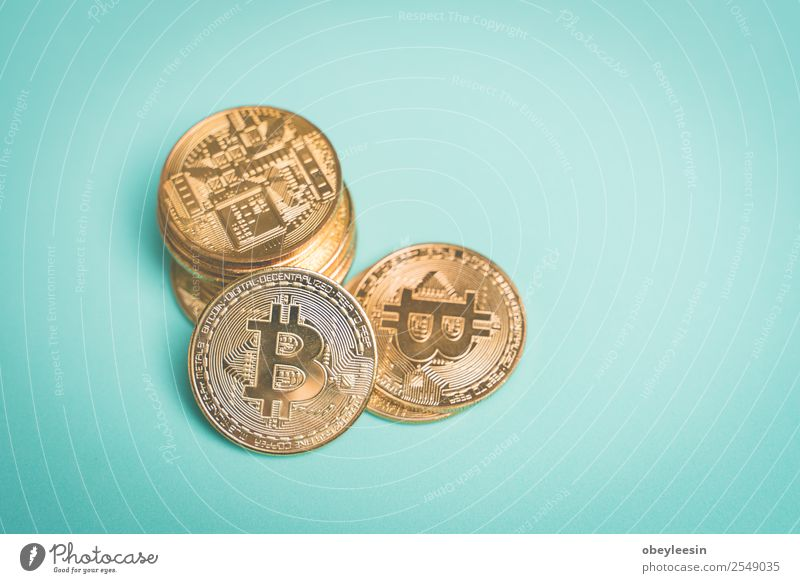 Crypto Currency Yellow - a Royalty Free Stock Photo from