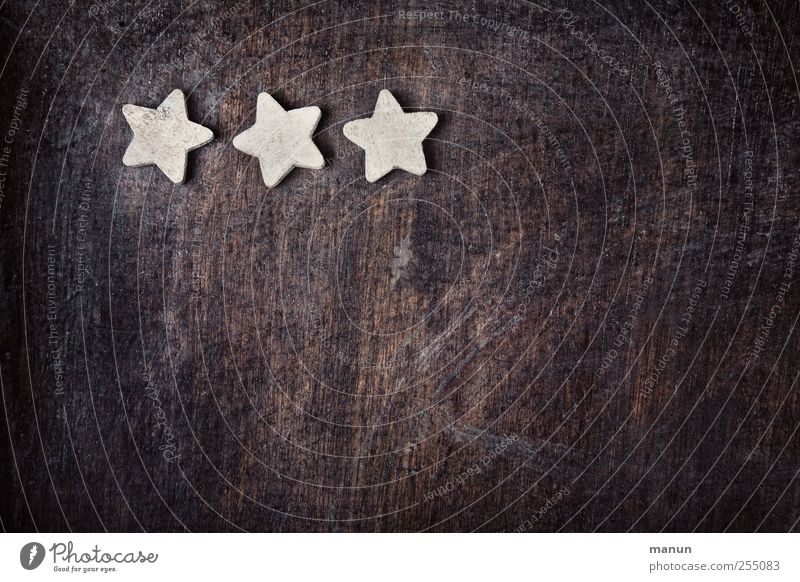 constellation Christmas & Advent Kitsch Odds and ends Sign Wood Star (Symbol) Constellation Christmas decoration Christmas star Authentic Simple Natural
