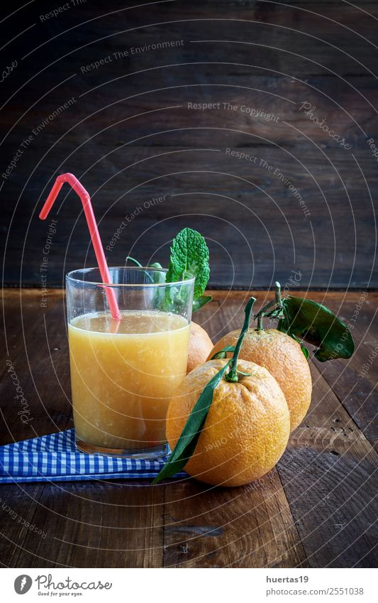 Juice of fresh oranges Colour Wood Fruit Nutrition Fresh Table Kitchen Delicious Beverage Breakfast Diet Mature Refreshment Rustic Juicy