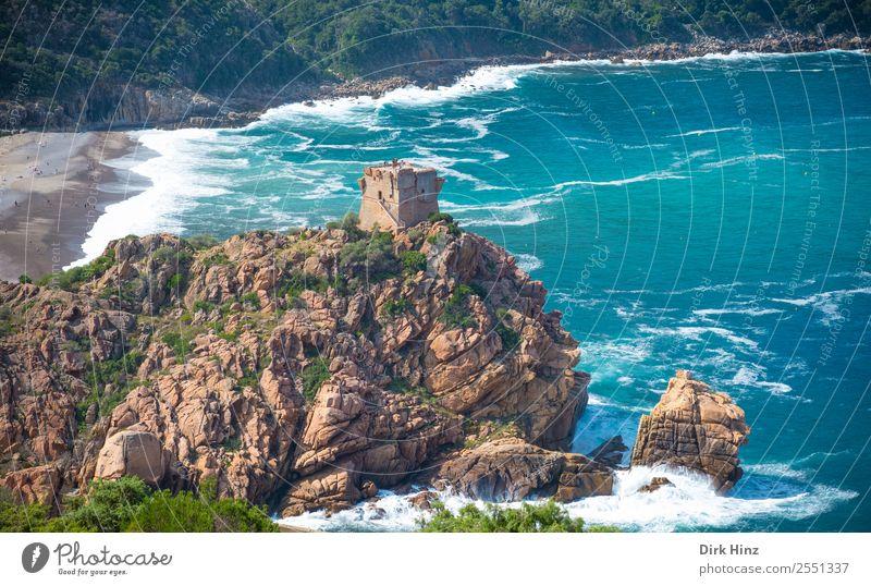 Nature Vacation & Travel Blue Landscape Ocean Beach Far-off places Mountain Environment Natural Coast Tourism Trip Rock Waves Perspective